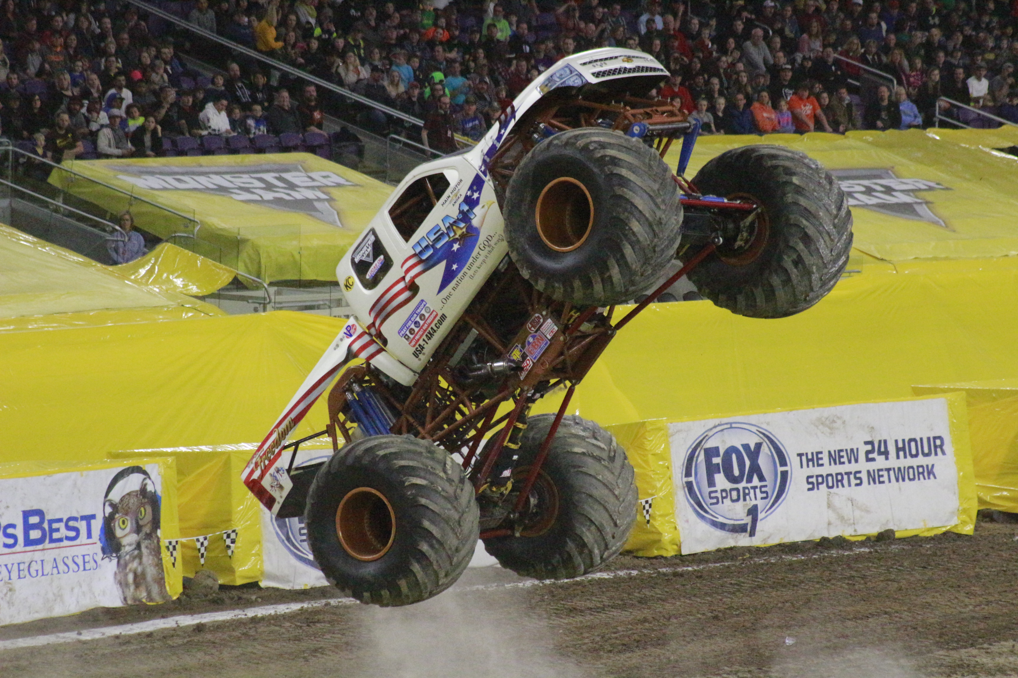 Old and New: USA-1 Back at Monster Jam » USA-1 4x4 Official Site