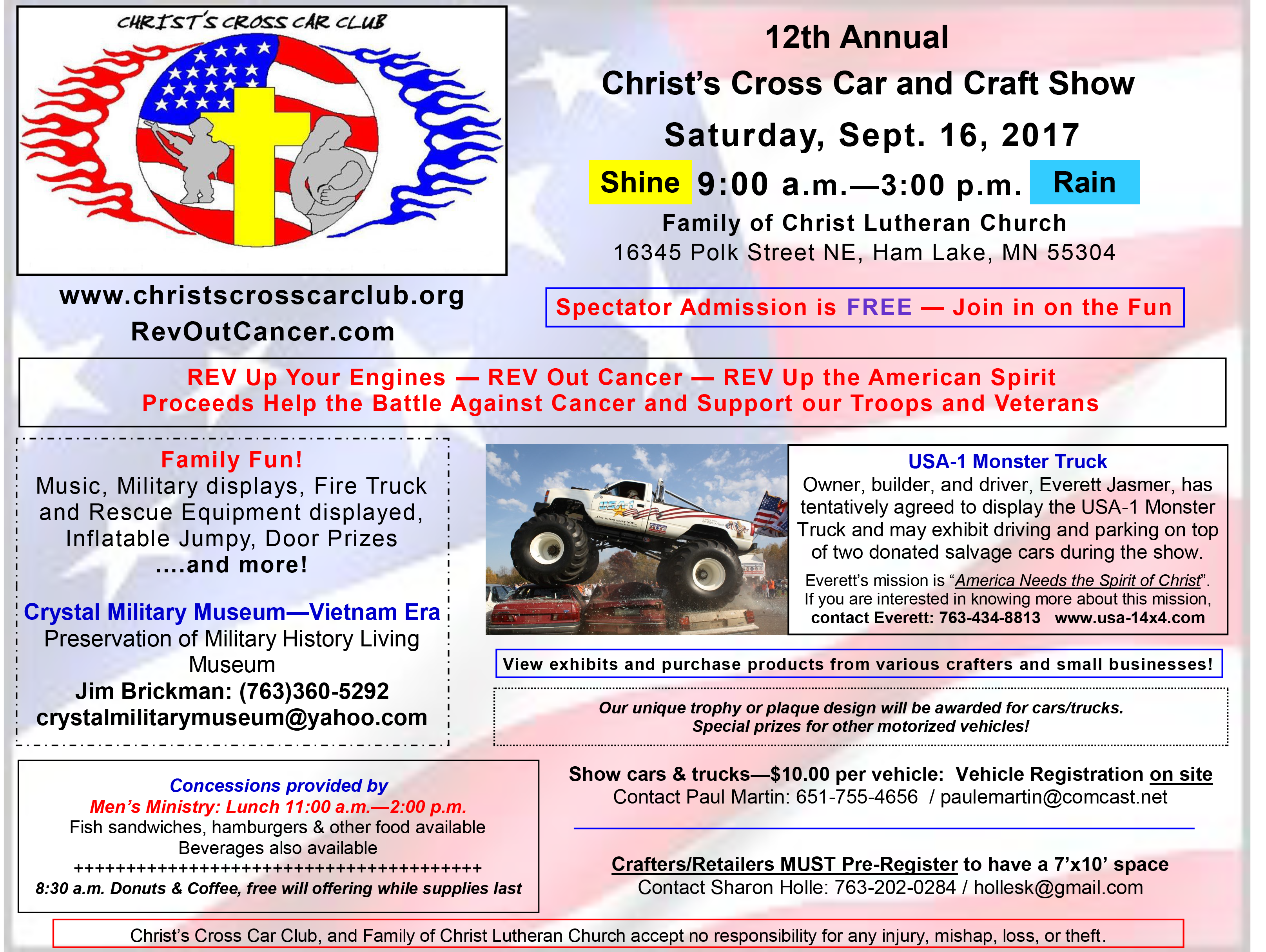 2017-Flyer Car and Craft Show Full-Page - v05